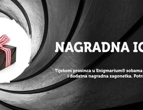 Nagradna igra u Enigmariumu tijekom prosinca