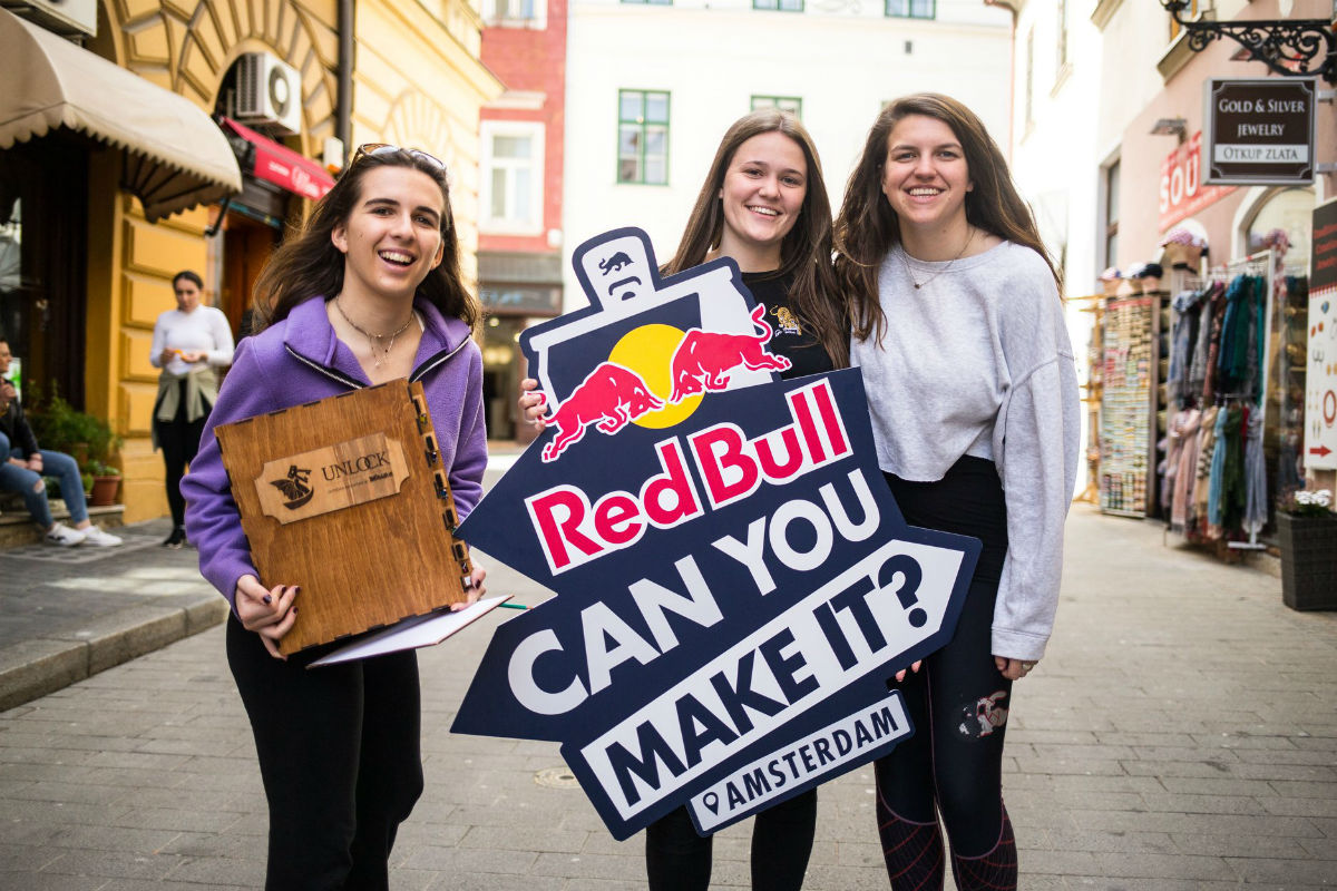 Red Bull Can You Make It - Zagreb. Enigmarium