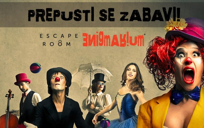Maškare u escape roomu